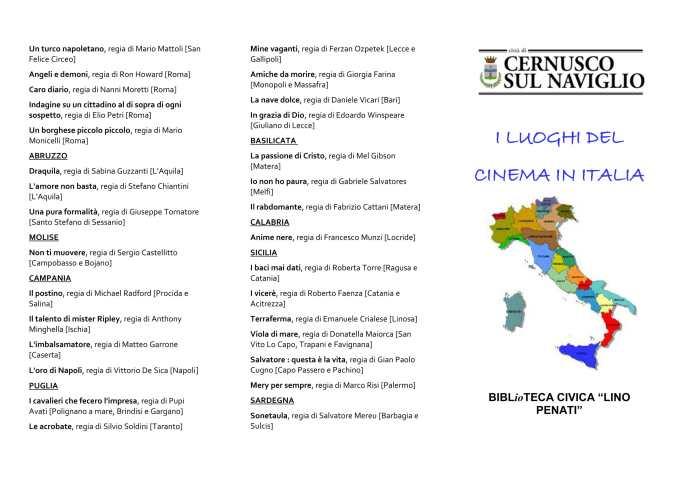 FILMOGRAFIA REGIONI ITALIA 1-1